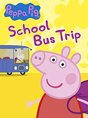 peppa pig School bus trip