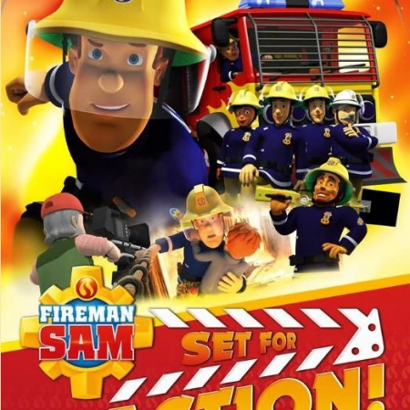 Fireman Sam Set for Action